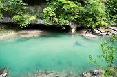 image of paysage  - Mountain river - JPG