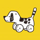 pic of toy dogs  - Dog Toy Doodle - JPG