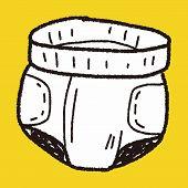 image of diaper  - Diaper Doodle - JPG