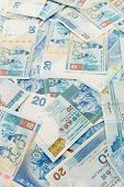 pic of twenty dollar bill  - Twenty Hong Kong dollar - JPG