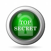 stock photo of top-secret  - Top secret icon - JPG