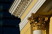 stock photo of sochi  - Architectural lines of the Gold Empire - JPG
