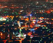 Night Damascus view