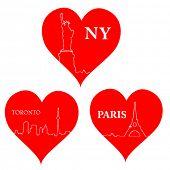 love city hearts