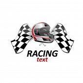 racing sign #1