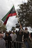 Libyan Embassy Protest