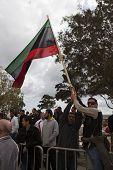 Libyan Embassy Protest