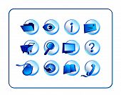 Icon Set  - Blue