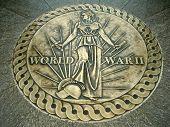 Segunda guerra mundial Memorial, el National Mall, Washington