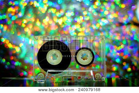 Audio Tapes For Tape Recorder 70s 80s 90s Bokeh Vintage Fashion Old