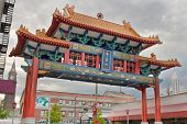 Chinatown Gate in Seattle Washington