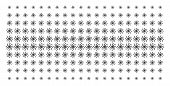 Galaxy Icon Halftone Pattern, Constructed For Backgrounds, Covers, Templates And Abstract Compositio poster