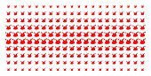 Joker Hat Icon Halftone Pattern, Constructed For Backgrounds, Covers, Templates And Abstract Composi poster
