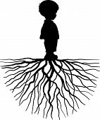 Child With Root.eps