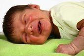 Choro de recém-nascido