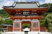 stock photo of minos  - Main gate of the Katsuo Ji temple buddhist temple of the winner - JPG