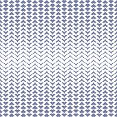 Vector Halftone Mesh Seamless Pattern With Curved Zigzag Lines, Smooth Grid, Weave, Net, Lattice, Fa poster