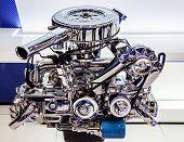 Car Engine, Concept Of Modern Motor poster