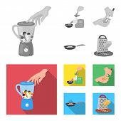 Equipment, Appliances, Appliance And Other  Icon In Monochrome, Flat Style., Cook, Tutsi. Kitchen Ic poster