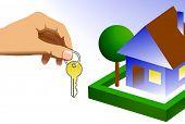Casa de llaves, realty, bienes raíces, seguridad