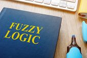 Book About Fuzzy Logic On A Table. poster