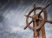 rueda de naves, tormenta
