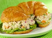 Chicken Salad On A Croissant
