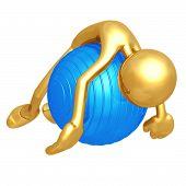 Pilates Physio Ball Fatigue