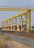 Railroad Locomotive Fuel Station