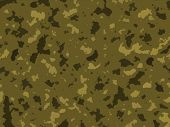 Desert Army Camouflage  Background Texture Design