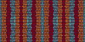 Pink Wall Stripe Vector Seamless Pattern. Simple Stripe Pattern. Pink Scandinavian Graphic Print. Am poster