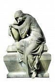 Seated Madonna Statue