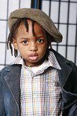 Cute Boy In A Cap