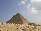 Pyramid Of Pharaoh Khufu, Giza Plateau, Egypt