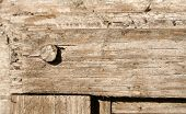 A Closeup Of An Old Wooden Frame