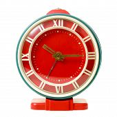 picture of wind up clock  - Vintage mechanical wind - JPG