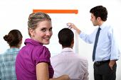 stock photo of peppy  - A business presentation - JPG