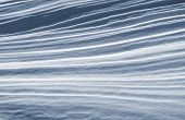 Abstrakte Schnee Formationen und Farben