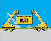 Crane With Under Construction