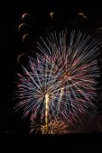 large fireworks display show