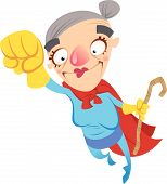Super Cartoon Oma