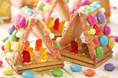 Sweet houses for kids party