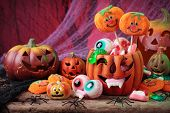 image of lolli  - Halloween sweets for Halloween party - JPG