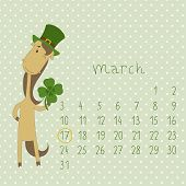 Calendar for march 2014.