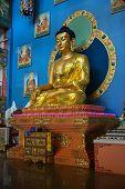 Golden Buddha Of Rinpoche Bagsha Datsan Monastery