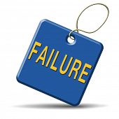 failure fail exam or attempt can be bad especially when failing an important job task or in your stu