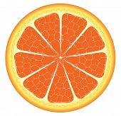 Orange Piece Or Slice