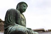 Daibutsu Giant Statue In Peace Situation