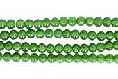 Green Glass Bead