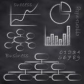 Vector Business Blackboard